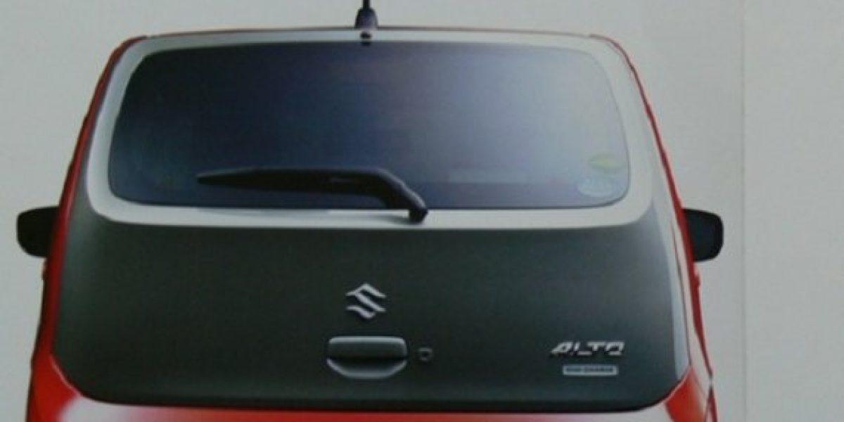 AVANCE:Así sería el nuevo Suzuki Alto
