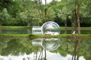 Bubble Tree Hotel, en Francia. Foto:Listverse. Imagen Por: