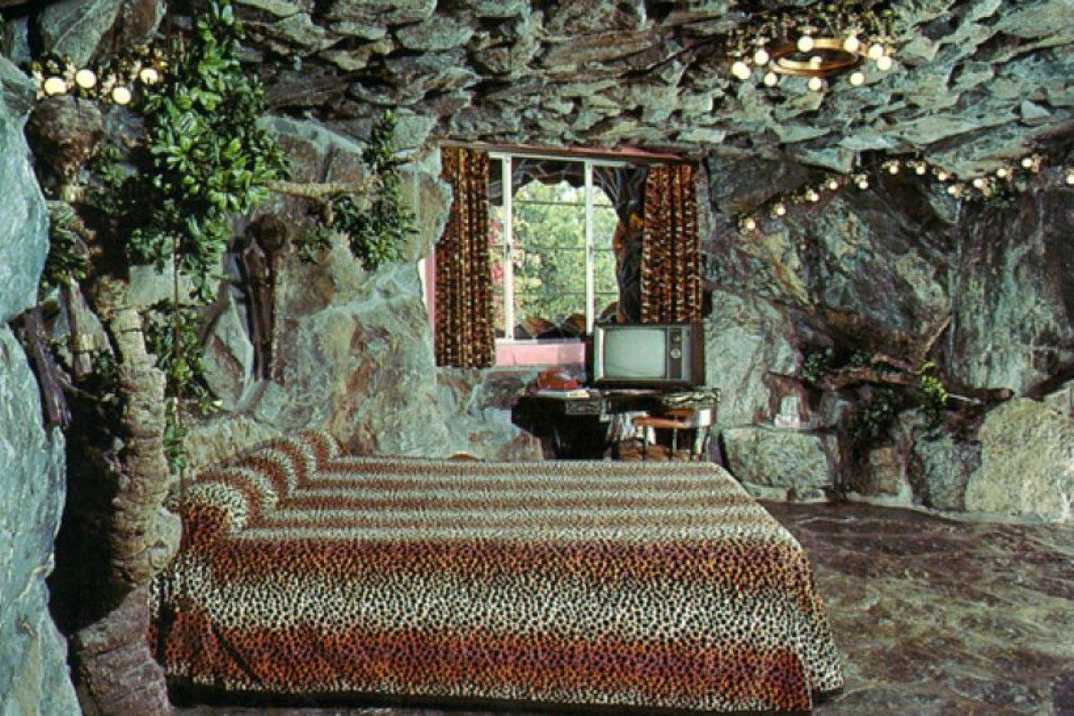 """Madonna Inn, en California. Esta habitación temática es conocida como """"La Cueva"""". Foto:Flavorwire. Imagen Por:"""