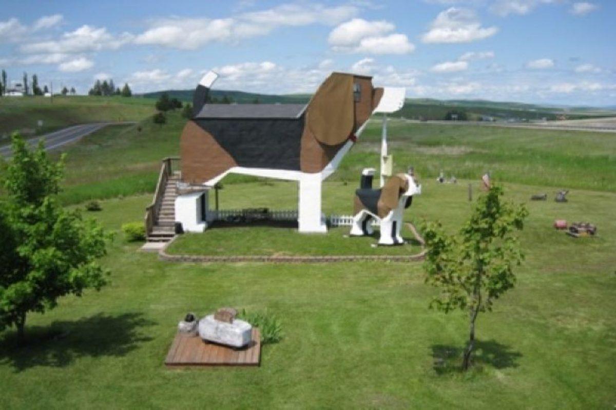 Dog Bark Inn, en Estados Unidos. Foto:Geekology. Imagen Por: