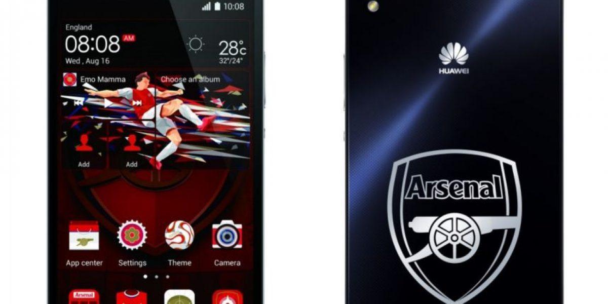 ¿Fanático de Alexis? Pronto en Chile el Huawei Ascend P7: Arsenal Edition