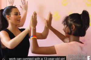 Kim Kardashian la conoció en un viaje a Tailandia Foto:Vía E!. Imagen Por: