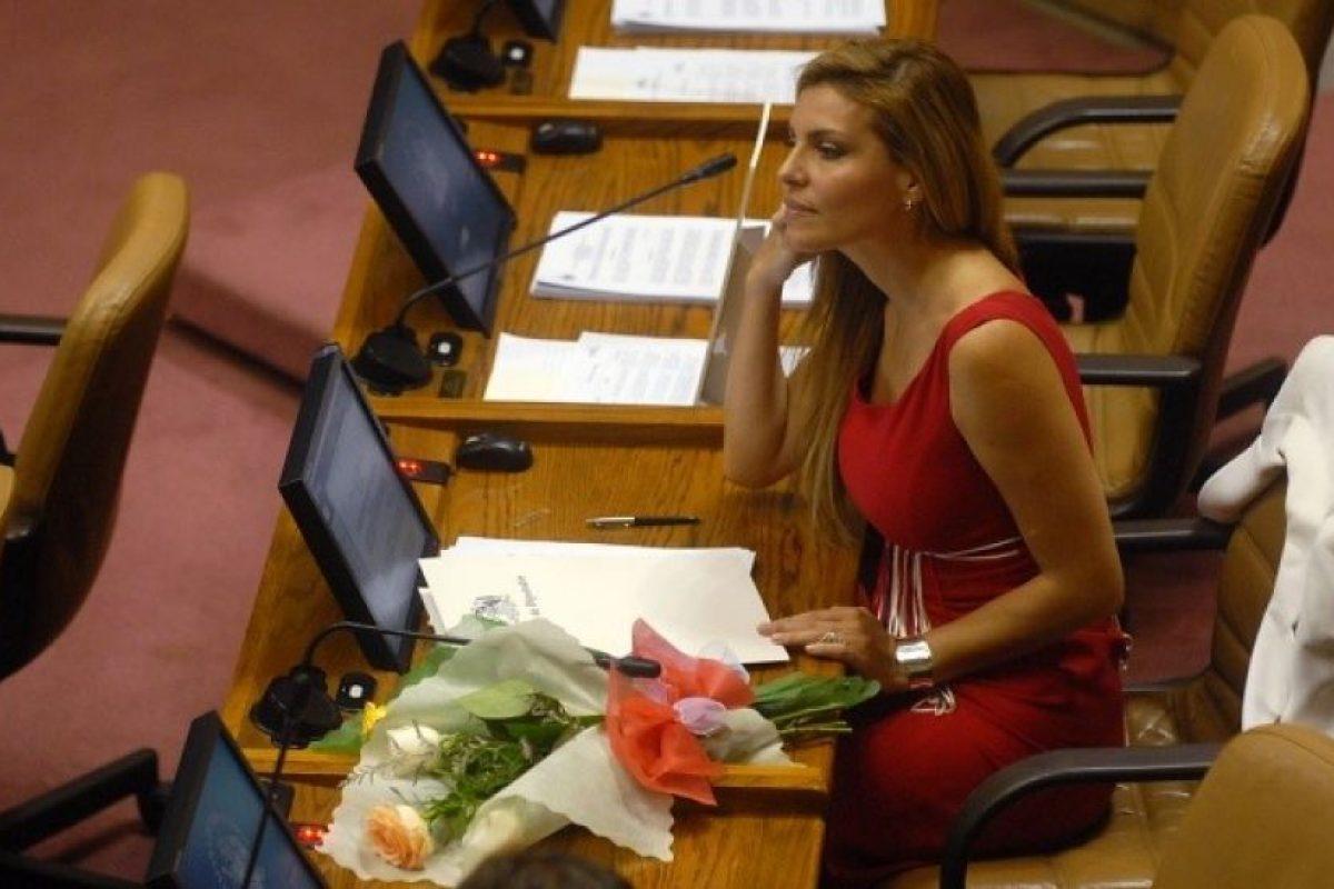 Andrea Molina (UDI) Foto:Agencia Uno. Imagen Por: