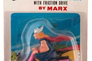 Para qué volar, Thor, si puedes irte en moto. Foto:Tumblr/Bootleg Toys. Imagen Por: