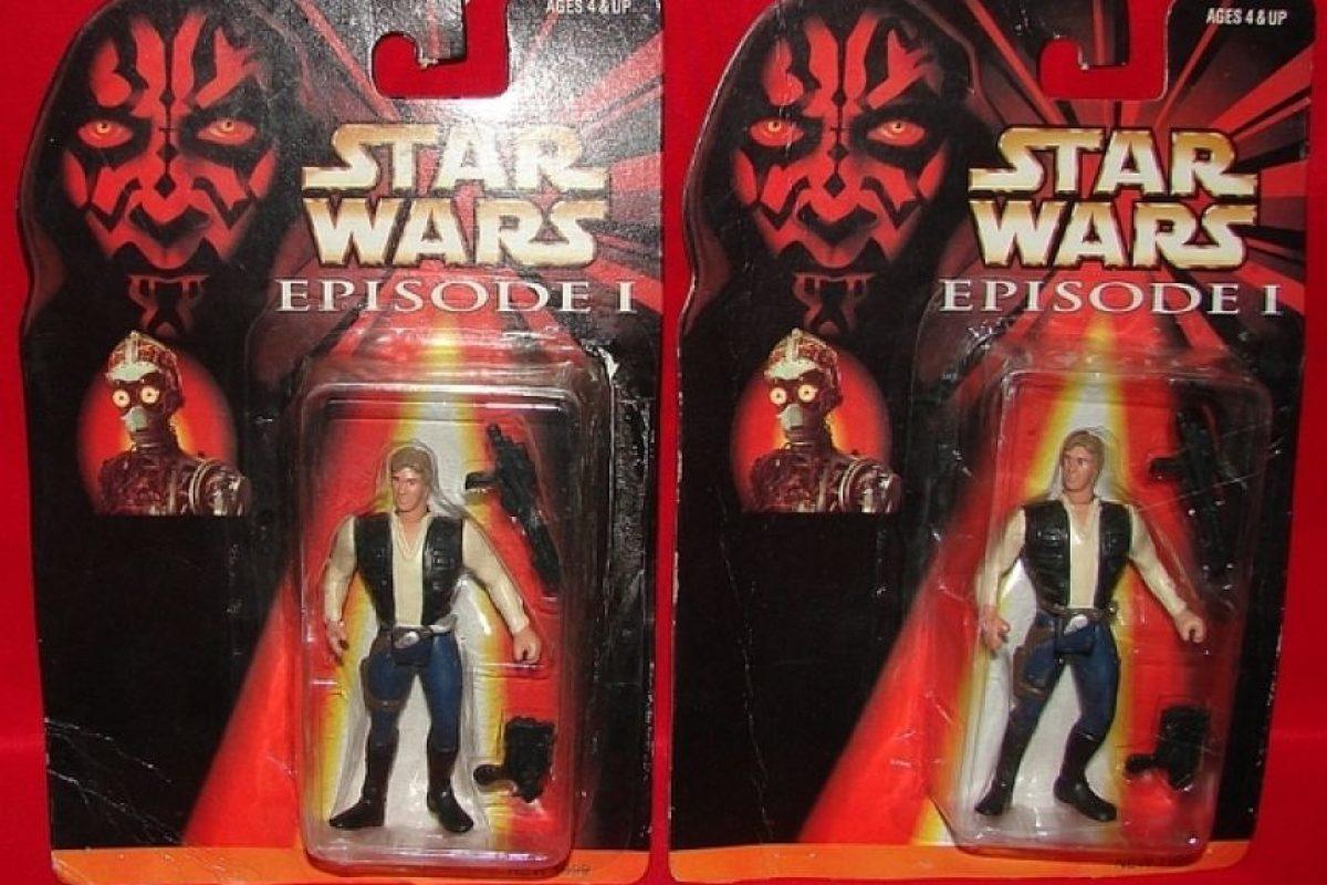 Ajá, Han Solo en el Episodio I Foto:Tumblr/Bootleg Toys. Imagen Por: