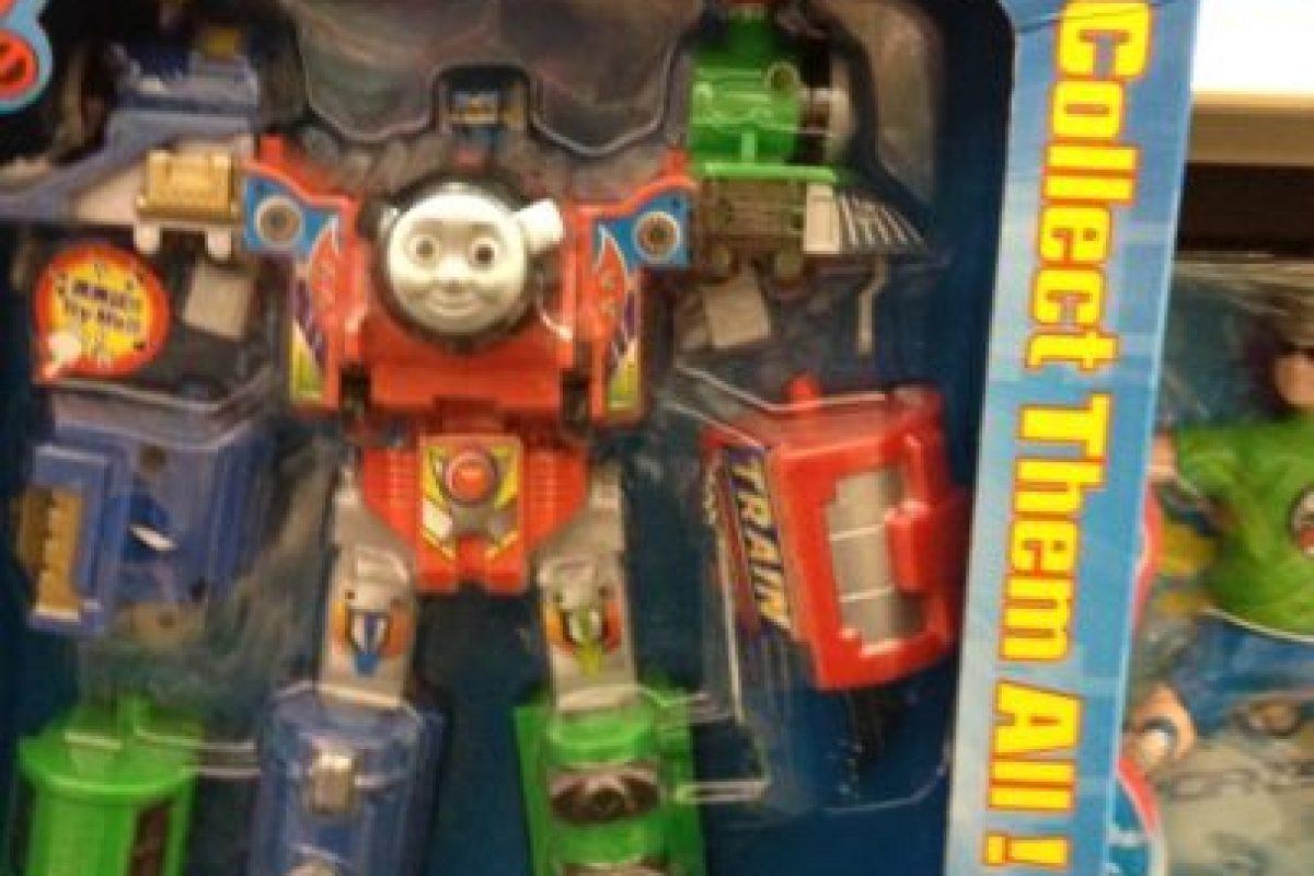 El tierno trencito era ESTO. Foto:Tumblr/Bootleg Toys. Imagen Por: