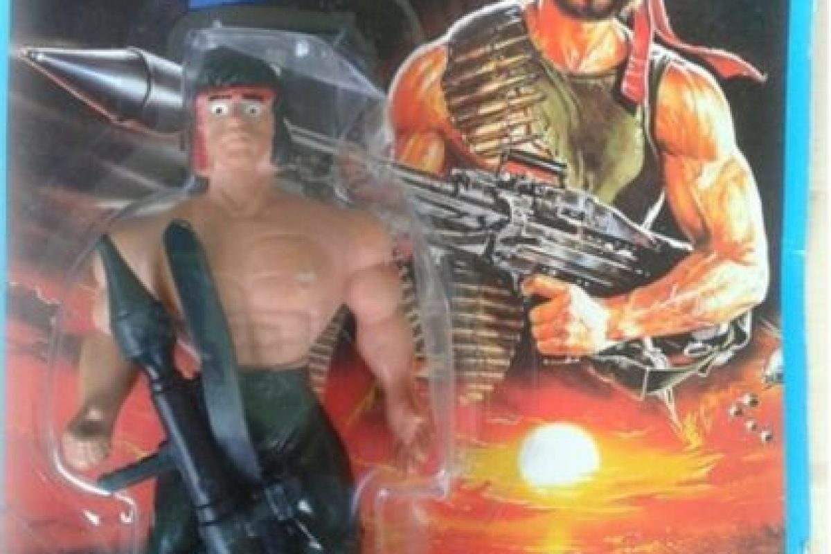 """He aquí a """"Rambo"""" Foto:Tumblr/Bootleg Toys. Imagen Por:"""