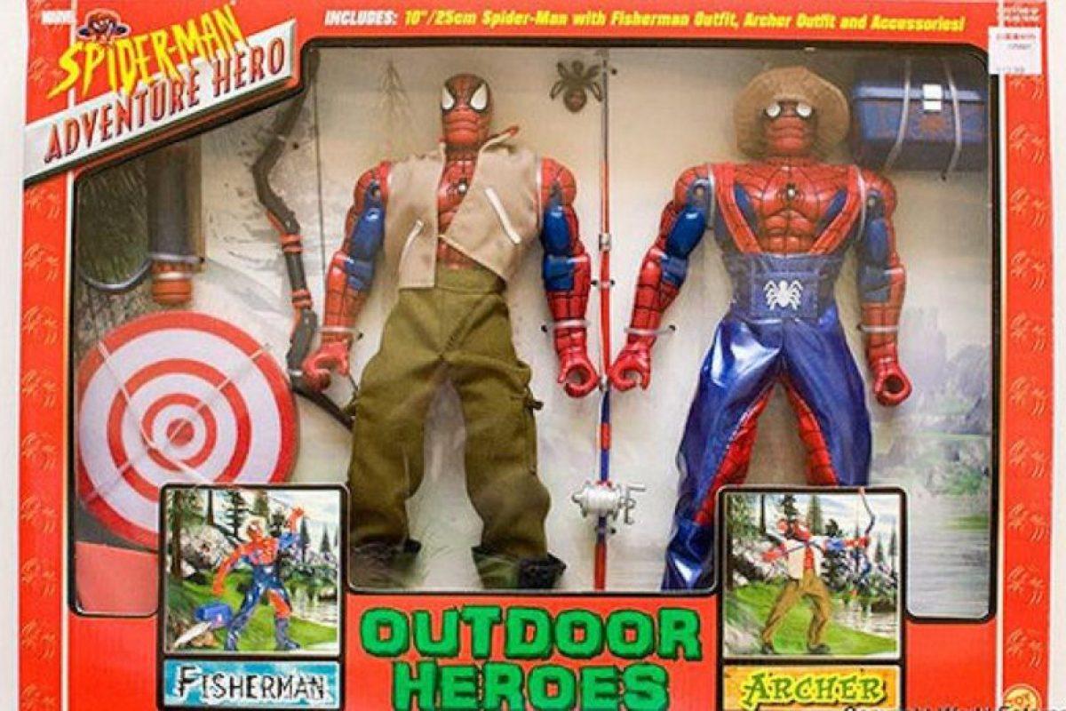 SpiderMan también es agricultor Foto:Tumblr/Bootleg Toys. Imagen Por:
