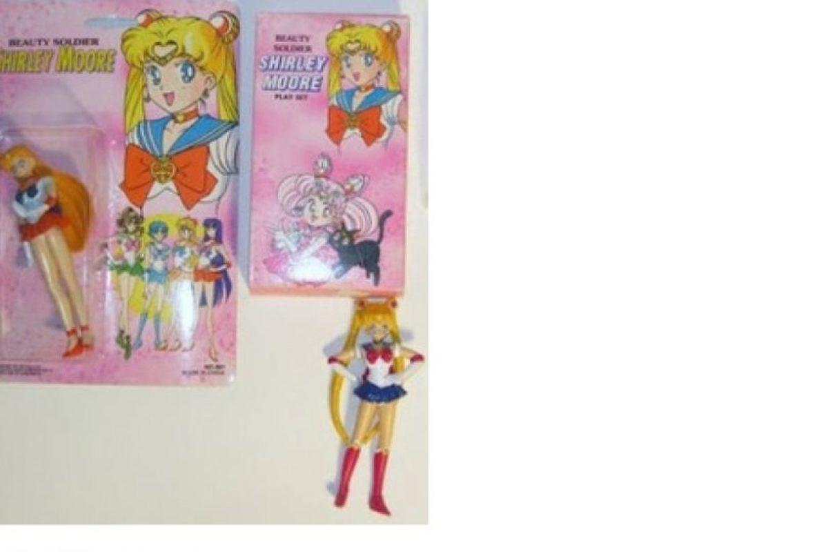 Le cambiaron el nombre a Sailor Moon Foto:Tumblr/Bootleg Toys. Imagen Por: