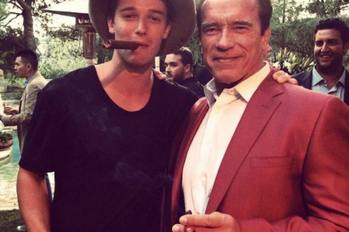 Es el mayor de cuatro hermanos Foto:Facebook Patrick Schwarzenegger. Imagen Por: