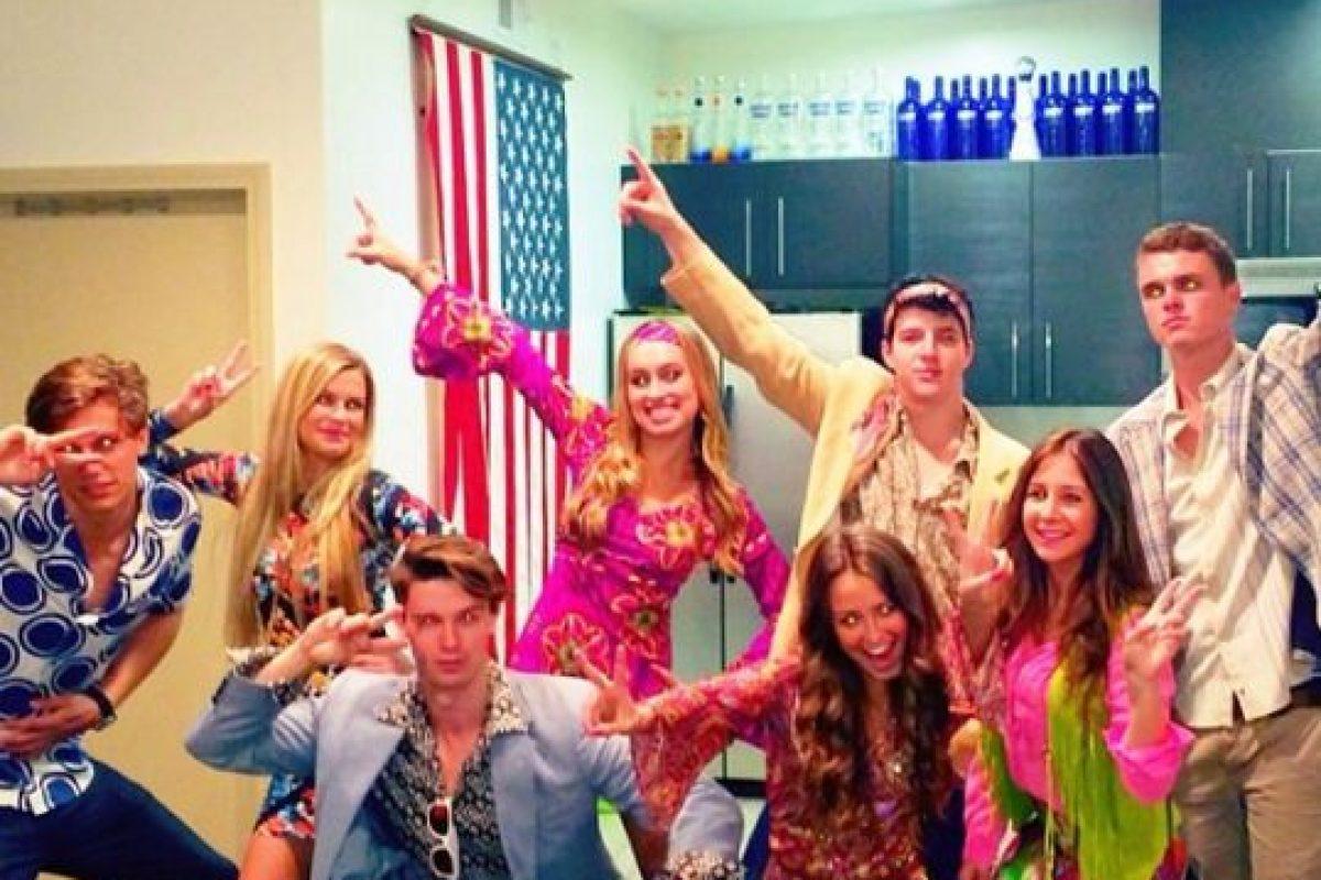 Disfrutaban de ir a fiestas Foto:Instagram @patrickschwarzenegger. Imagen Por: