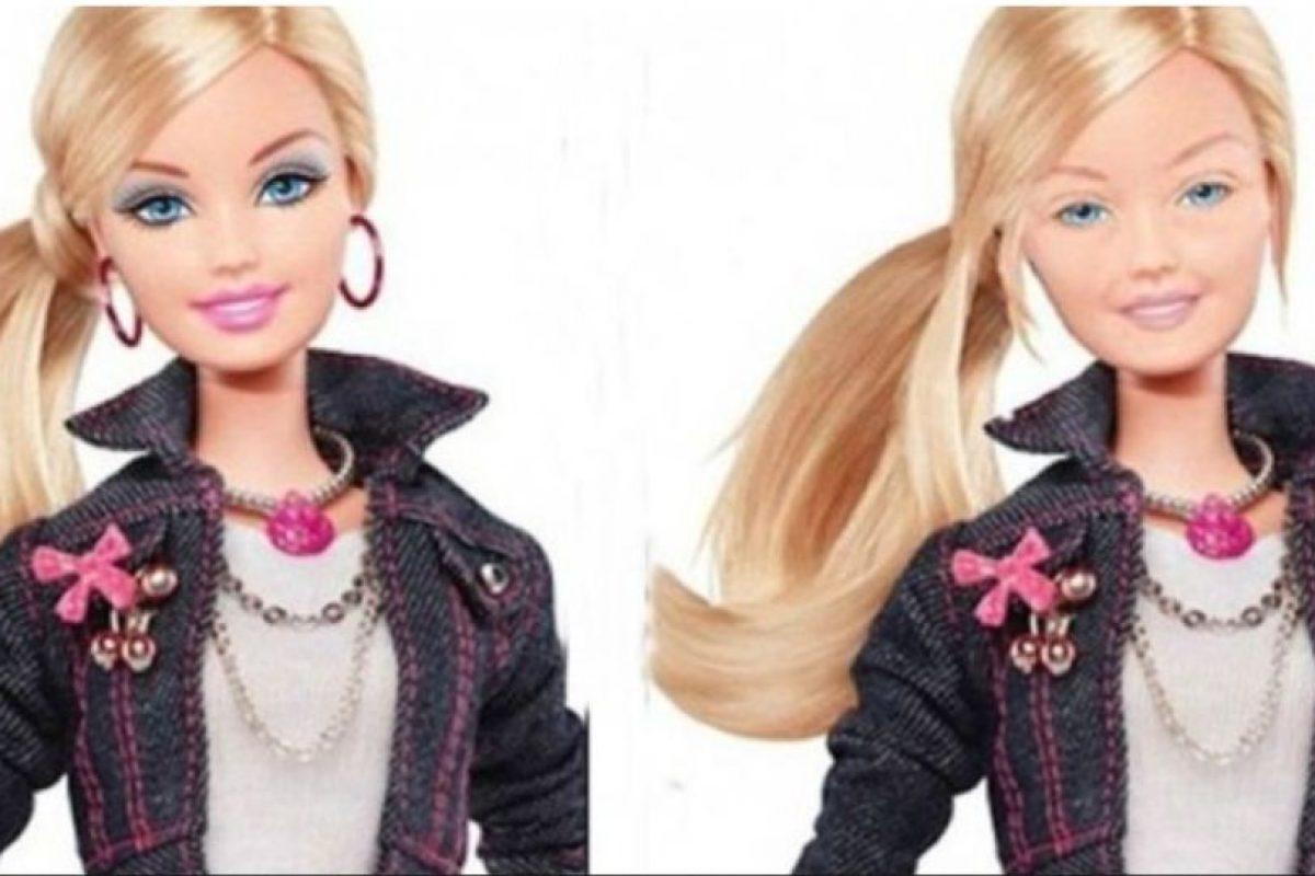 El mexicano Eddi Aguirre se hizo famoso por mostrar a la Barbie sin maquillaje Foto:Behance. Imagen Por: