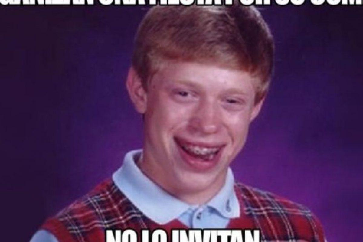"""Bad Luck Brian"" Foto:Meme Generator. Imagen Por:"