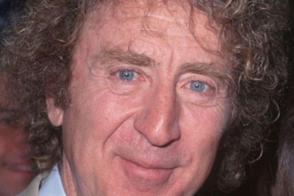 En realidad, quien interpretó a Wonka en la versión de 'Charlie y la fábrica de Chocolate' fue el actor Gene Wilder Foto:Getty Images. Imagen Por: