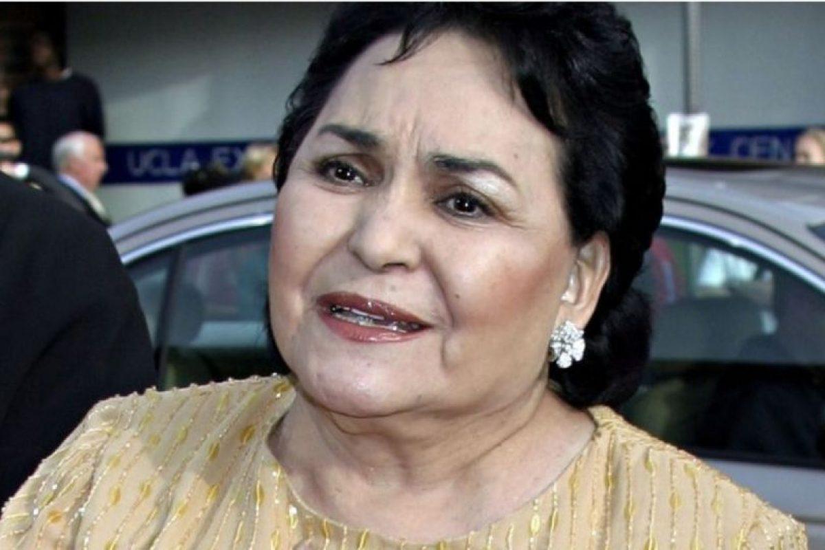 Carmen Salinas es una reputada actriz mexicana Foto:Getty Images. Imagen Por: