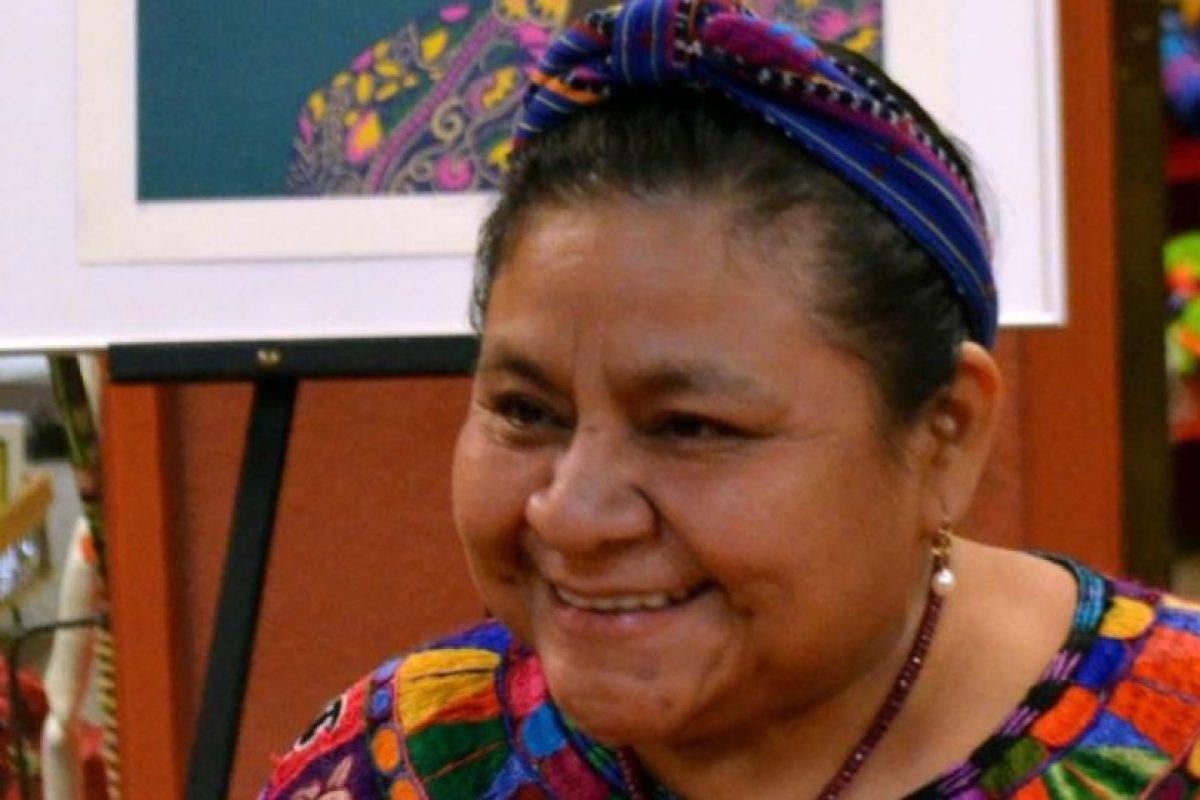 Quien es protagonista del meme es la activista y Nobel de Paz Rigoberta Menchú. Foto:Getty Images. Imagen Por: