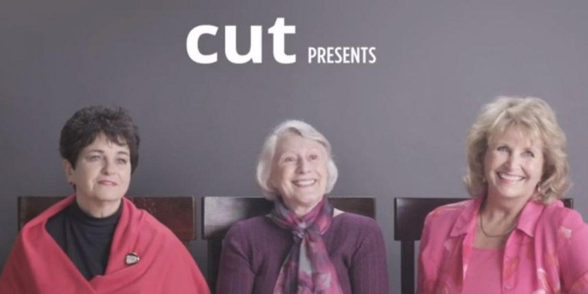 VIDEO: Así reaccionan tres abuelas que prueban la marihuana por primera vez