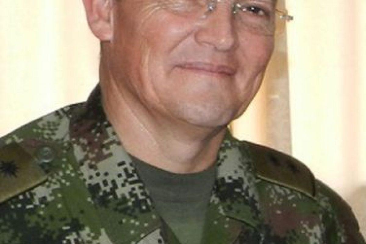 El general Rubén Darío Alzate Mora. Foto:AP. Imagen Por: