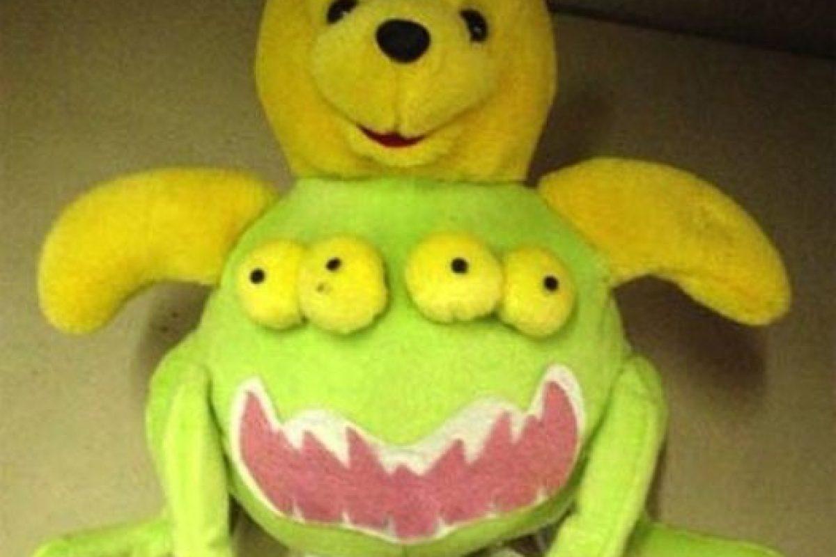 """Una versión tierna de """"Alien"""" Foto:Tumblr/Bootleg Toys. Imagen Por:"""