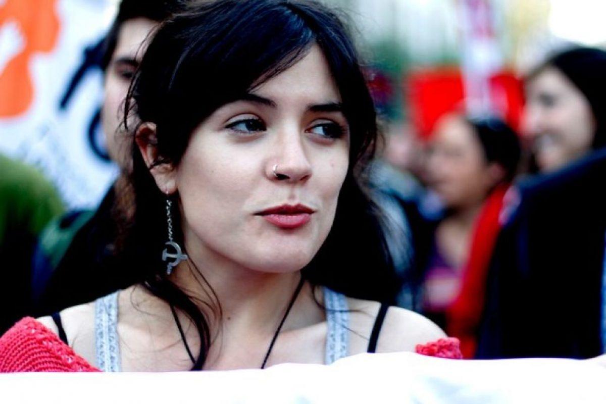 Camila Vallejo (PC) Foto:Agencia Uno. Imagen Por: