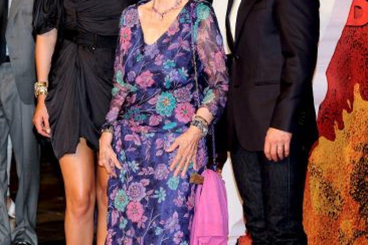 """2010: Junto a Cameron Díaz y Tom Cruise en la premiere de la película """"Knight and Day"""" Foto:Getty Images. Imagen Por:"""