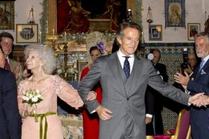 Tercera boda de la Duquesa el 5 de octubre de 2011 Foto: Getty Images. Imagen Por: