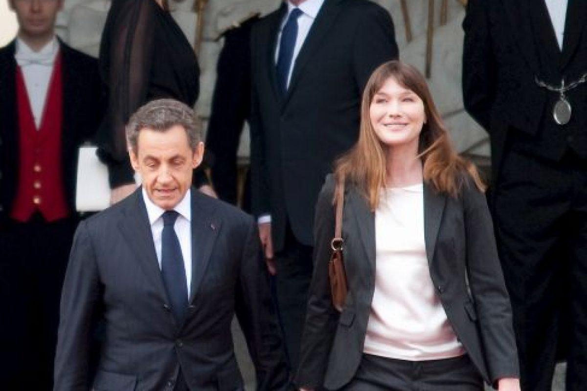 Carla Bruni, la modelo y cantante que se convirtió en la Primera Dama de Francia. Foto:Getty Images. Imagen Por: