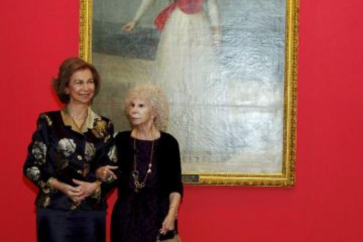 2012: Con la Reina Sofía de España Foto:Getty Images. Imagen Por: