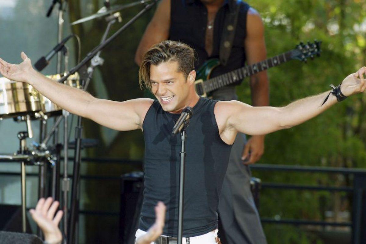 Ricky Martin asistió en 2003 con su novia Rebeca De Alba Foto:Getty Images. Imagen Por: