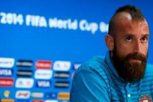 La tupida barba y el corte de mohicano son sus características principales Foto:Getty. Imagen Por: