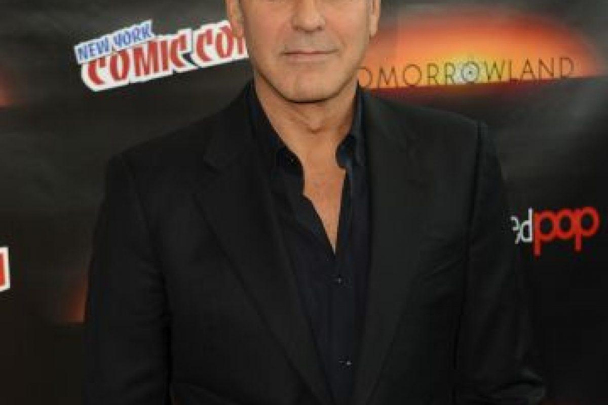 George Clooney (2014) Foto:Getty Images. Imagen Por: