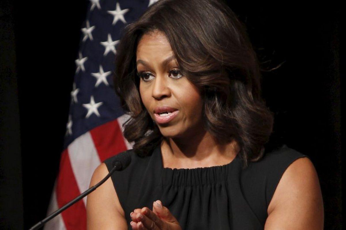 Michelle ha apoyado en todo a su esposo Barack Obama y es conocida como una mujer inteligente y hábil. Foto:Getty Images. Imagen Por: