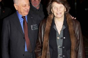 Danielle Mitterrand desarrolló diversas actividades políticas y humanitarias. Foto:Getty Images. Imagen Por: