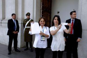 Erika Muñoz, presidente de la Confepa, y Silvia Pasten, tesorera.. Imagen Por: