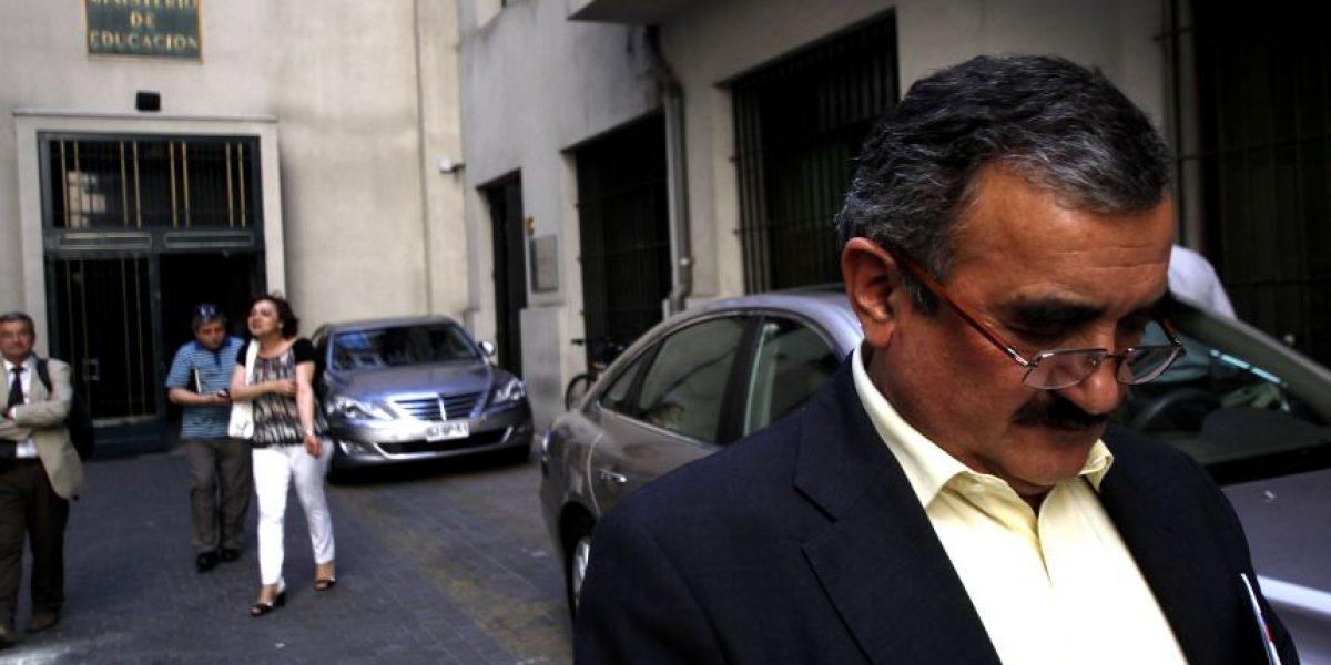 Profesores critican a Jaime Gajardo
