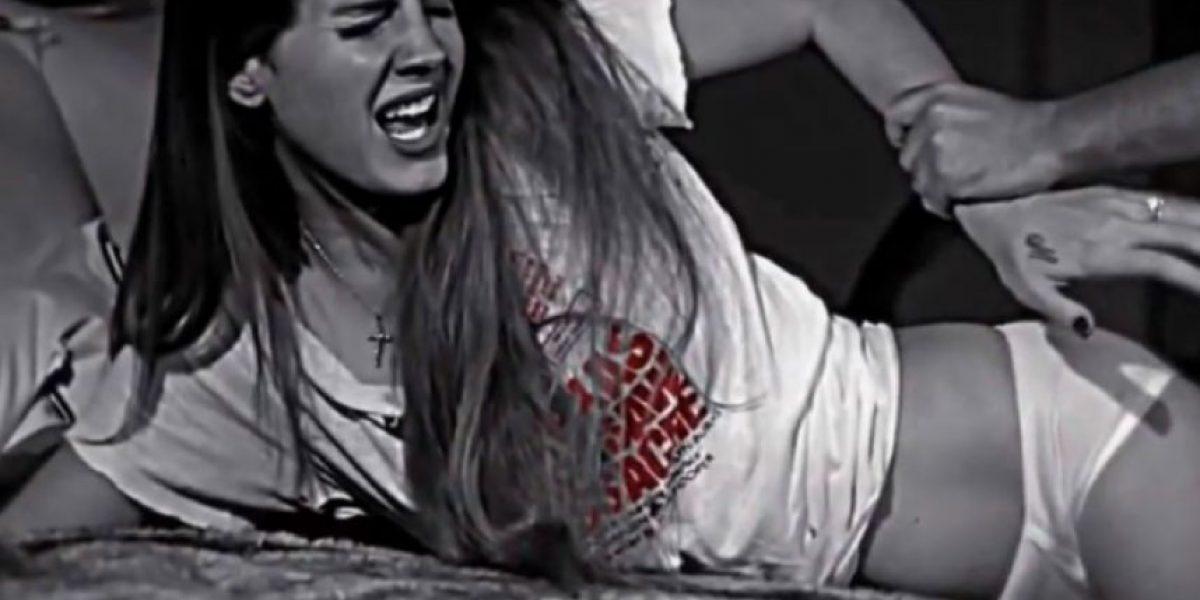 Lana del Rey simula ser violada en video de Marilyn Manson