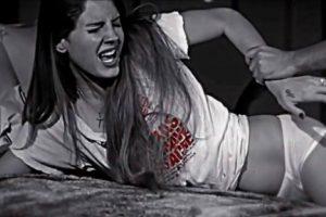 Precisamente en 2012 se rumoró que Lana del Rey y Marilyn Manson tenían una relación. Foto:Captura de pantalla. Imagen Por: