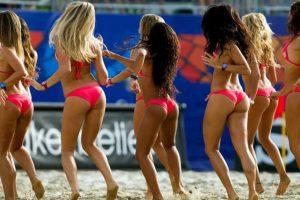 Las porristas de los Mundiales de Fútbol de Playa Foto:Getty. Imagen Por: