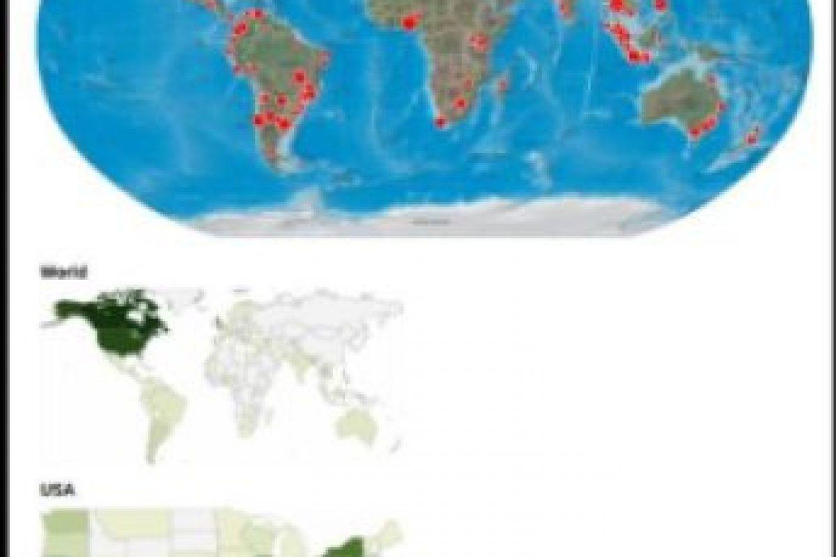 Este es el impacto de su publicación a nivel mundial Foto:Twitter/Jordan Axani. Imagen Por: