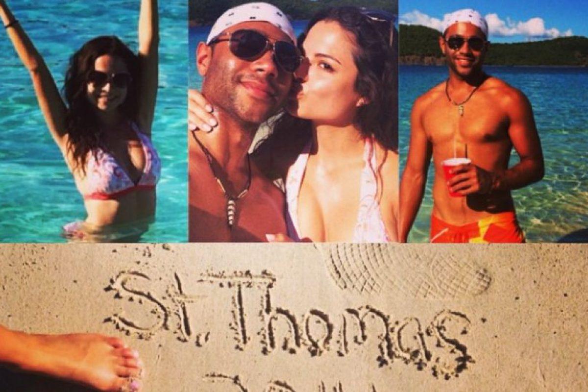 """El pasado mes de octubre, Corbin se comprometió con Sasha Nicole Clements frente al """"Castillo de Cenicienta"""" en el parque de Walt Disney World en Florida Foto:Instagram/Corbin Bleu. Imagen Por:"""