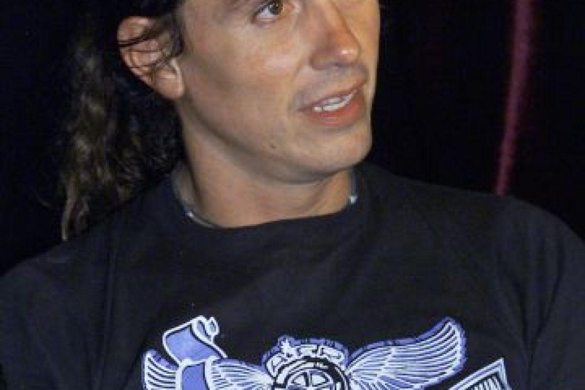 Saúl Hernández, del grupo mexicano Caifanes Foto:Getty. Imagen Por: