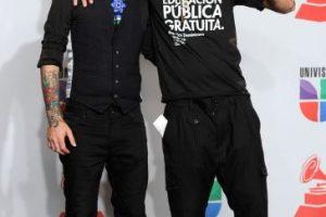 Calle 13 se manifestó en contra del gobierno mexicano Foto:Getty. Imagen Por: