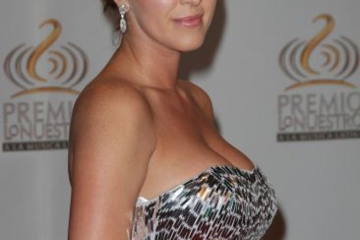 Alicia Machado, ex Miss Universo Foto: Getty. Imagen Por: