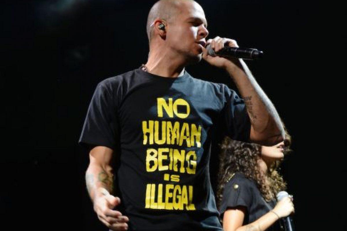 El músico pidió la renuncia del gobierno mexicano Foto:Getty. Imagen Por: