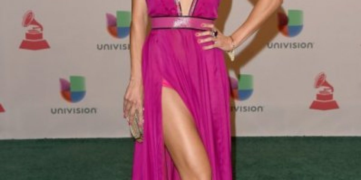 Carolina De Moras y Rafa Araneda en los Grammy Latino: