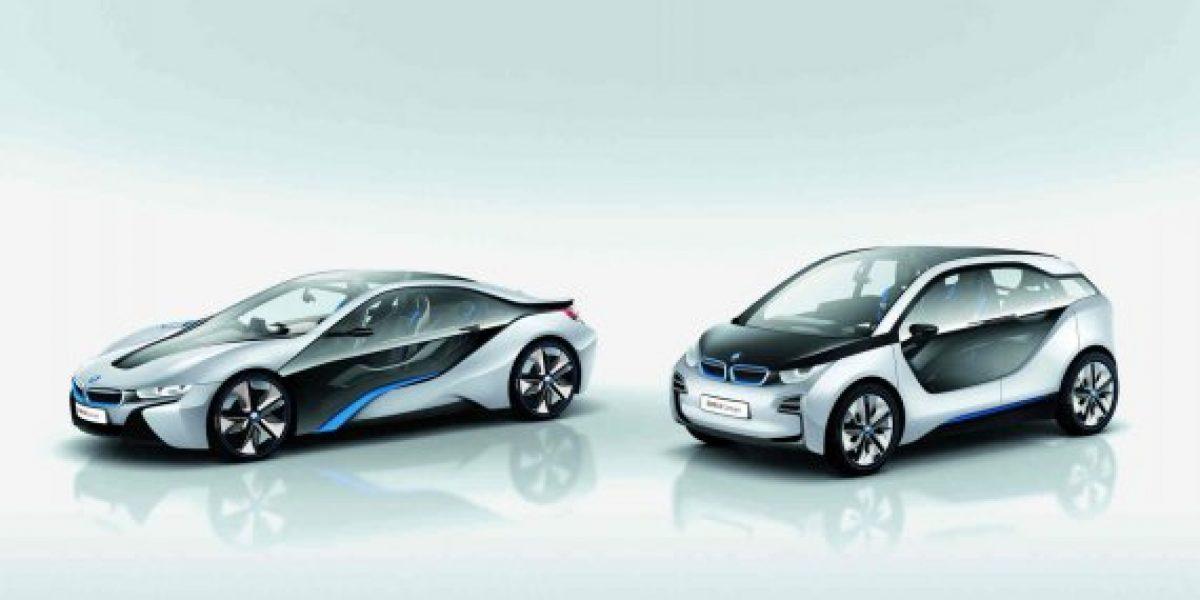 BMW presentó sus primeros autos eléctricos BMW i3 y BMW i8