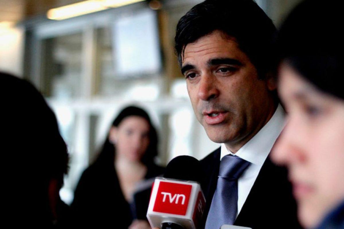 Gonzalo Fuenzalida, diputado RN por el distrito 54 de la Región de Los Ríos. Foto:Agencia Uno. Imagen Por: