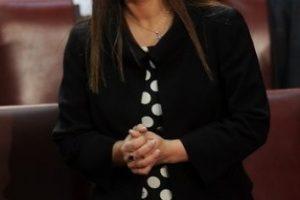 Jenny Álvarez, diputada PS por el distrito 58 de la Región de Los Lagos. Foto:Agencia Uno. Imagen Por: