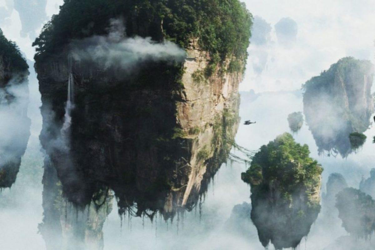 Las hermosas montañas voladoras están inspiradas en las montañas Huangshan, de China Foto:IMDB. Imagen Por: