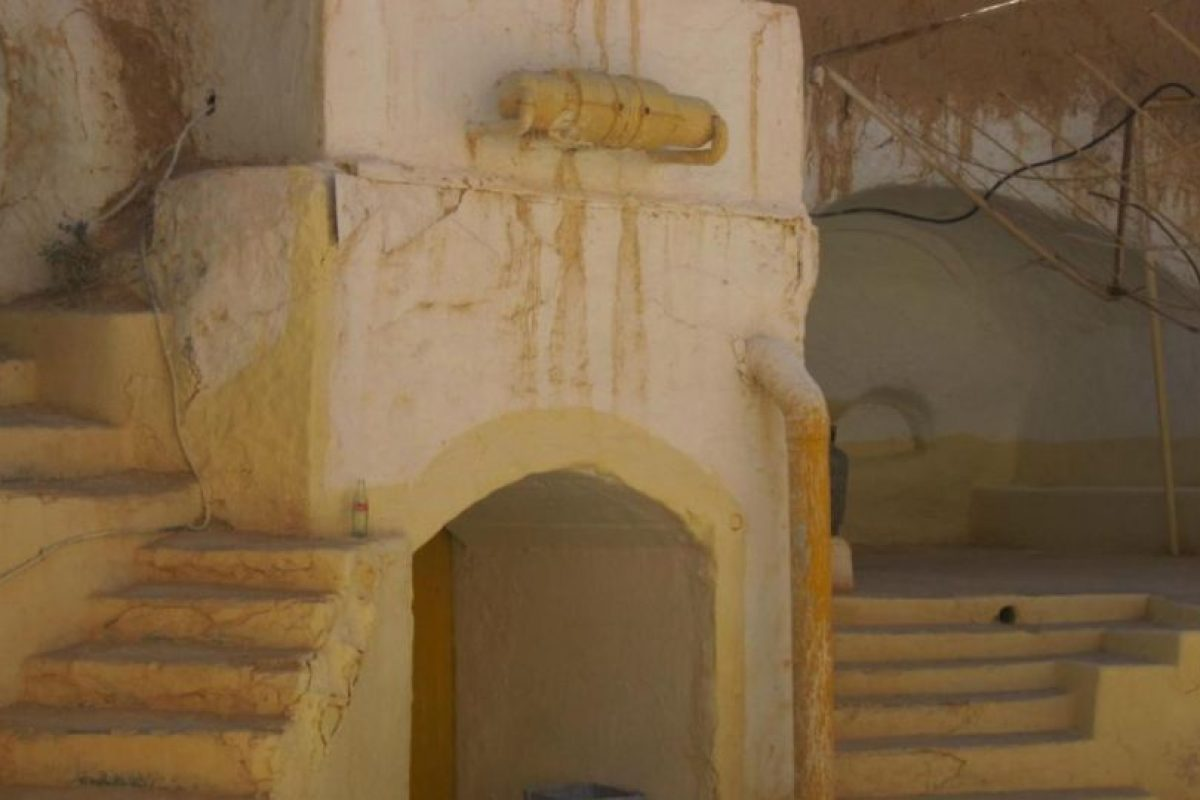 Es el Hotel Sidi Driss, de Matmata, un pueblo de Túnez Foto:Wikipedia. Imagen Por: